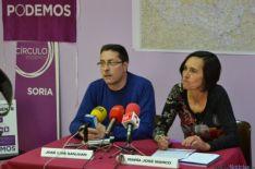 Presentación candidatura de Podemos a las Cortes
