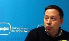 El candidato popular al Ayuntamiento de Soria, Adolfo Sainz.