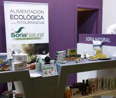 Productos de Soria Natural en la feria.