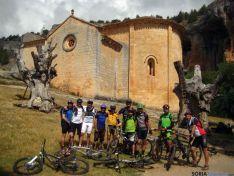 Un grupo de ciclistas en una de las etapas.