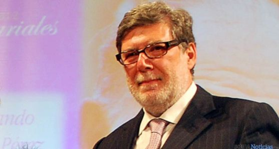 El presidente de FOES, Santiago Aparicio. / SN