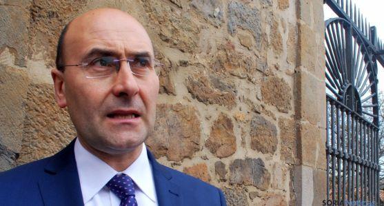 El alcalde de Ágreda, Jesús Manuel Alonso. / SN