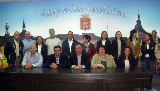 La candidatura del PP al Ayuntamiento burgense.