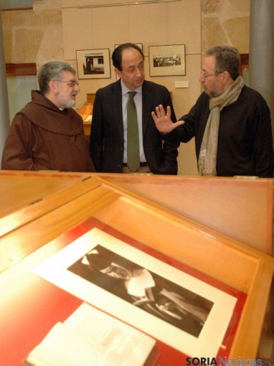 Ortega, (izda.), López y De la Casa. / Jta.
