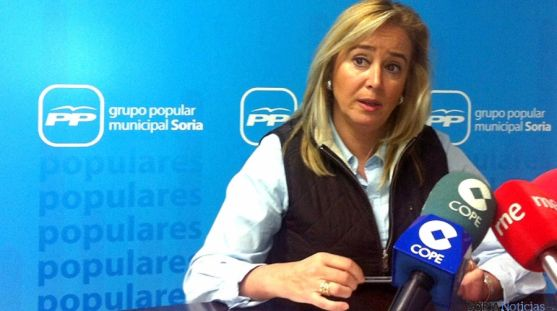 La concejal popular María José Fuentes. / SN