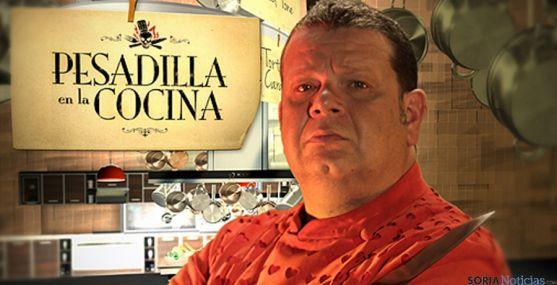 El chef Alberto Chicote, eje del programa 'Pesadilla en la coina'.