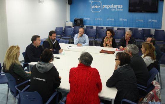 Reunión candidato PP con vecinos de Los Pajaritos