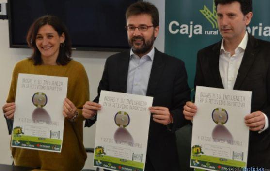 Sandra Carreras, Eduardo Munilla y Ángel Romera