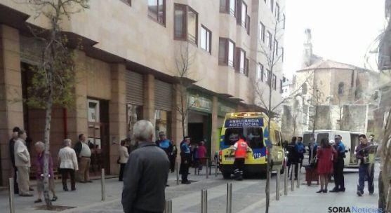 Atropello en Soria