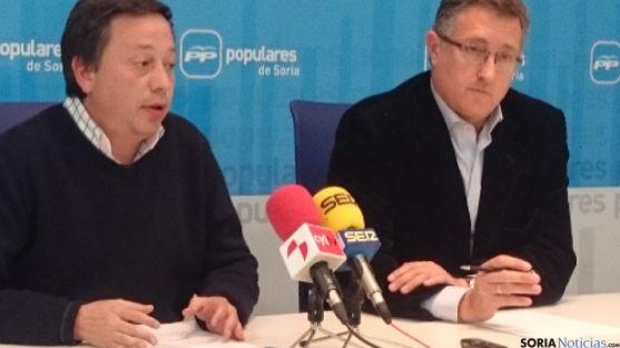 El alcalde de Teruel en el PP de Soria