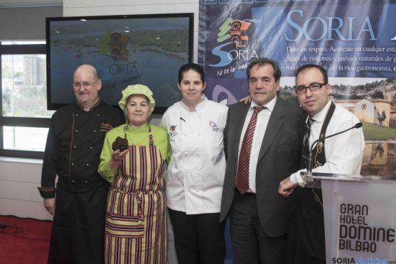Presentación de la oferta gastronómica en Bilbao