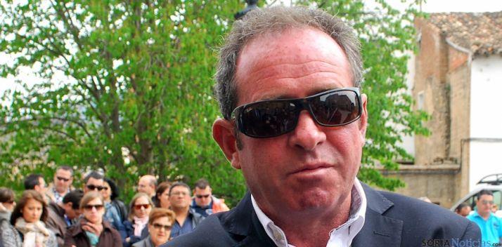 El alcalde de Nieva de Cameros, Carlos Fernández. / SN