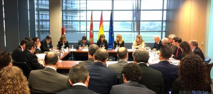 Sección de Internacionalización del Consejo de Comercio este viernes. / Jta.