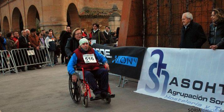Uno de los participantes en la carrera. / SN