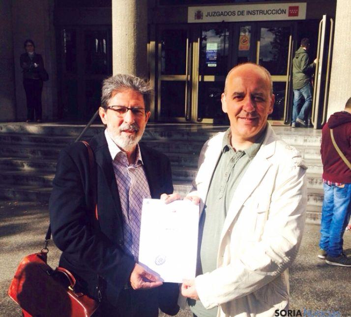 Barrena (izda.) y García, en Madrid. / EG