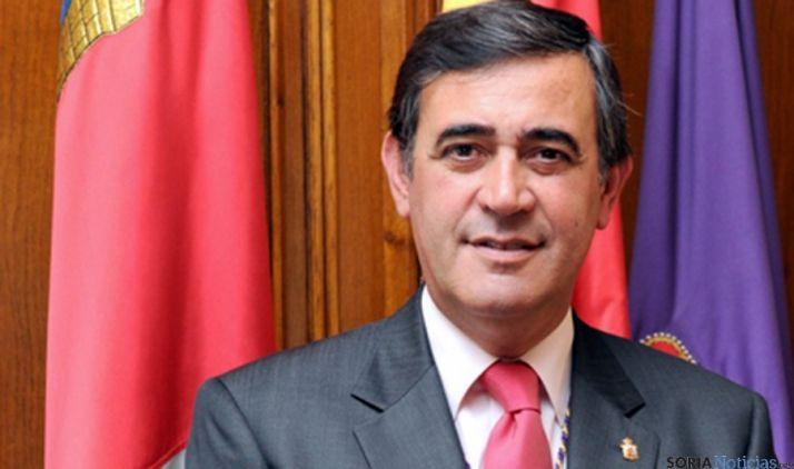 El presidente de la Diputación Provincial de Soria, Antonio Pardo.
