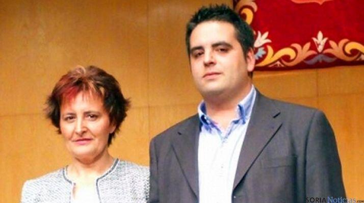 Óscar Carnicero y Elena Martínez.