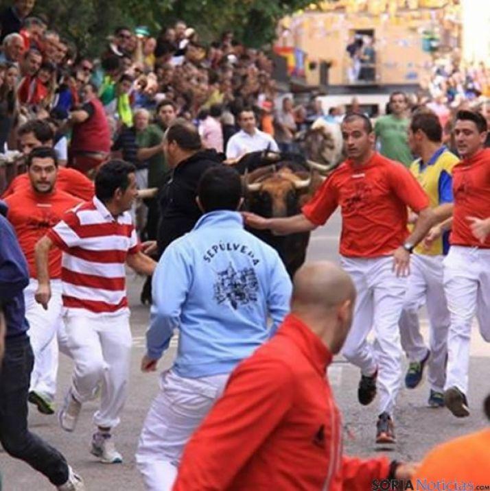 Los corredores sorianos de rojo