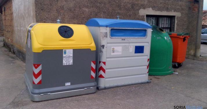 Los contenedores en Cubo de la Solana.