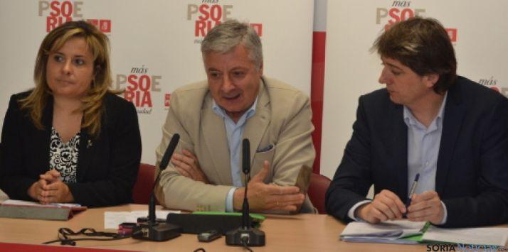 Pepe Blanco en Soria