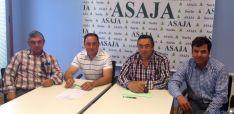 El nuevo comité ejecutivo de ASAJA Soria.
