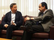 Adolfo Sainz se reúne con Manuel López