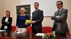 Carmen Ruiz (izda.), Mari Cruz Garrido, Míkel Martínez y Javier Gómez. / SN