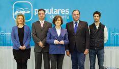 Candidatura del PP de Soria a las Cortes regionales
