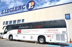 Donación de sangre en el Leclerc