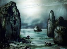 Una de las obras del artista aragonés.