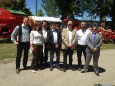Los socialistas en la Feria de Almazán