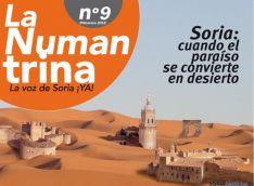 Portada del número 9 de 'La Numantrina'. / Soria Ya