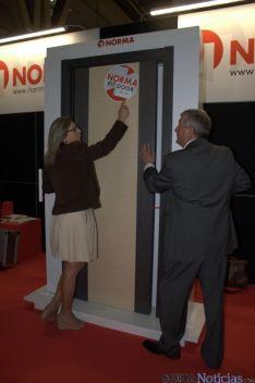 El nuevo sistema de puerta.