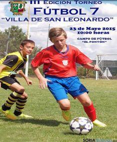 Fin de semana futbolístico en San Leonardo.