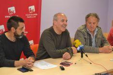 Presentación candidatos de IU en Soria