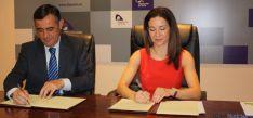 Firma convenio Diputación y Colegio de Farmaceúticos