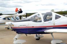 50 aviones participan en las jornadas de puertas abiertas del aeródromo de Garray