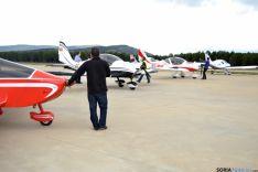 Foto 2 - 50 aviones participan en las jornadas de puertas abiertas del aeródromo de Garray