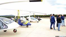 Foto 4 - 50 aviones participan en las jornadas de puertas abiertas del aeródromo de Garray