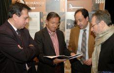 Barrio, Martínez, López y De la Casa, en la exposición