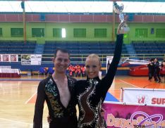 Daniel Hernández y Magdalena Buczek.