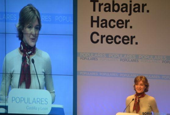 Isabel García Tejerina en Soria