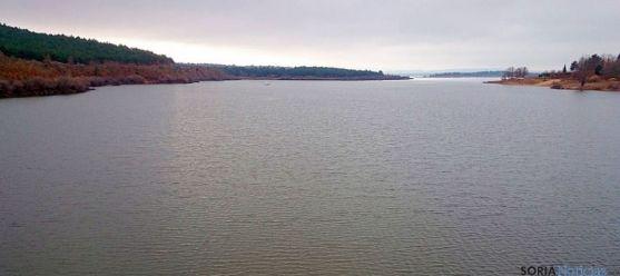 Imagen del pantano de la Cuerda del Pozo. / SN