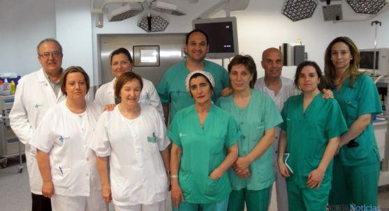 Parte de los miembros del equipo que desarrolla el proyecto. / Jta.
