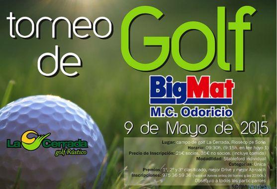 El torneo dará comienzo a las 9.15 horas.