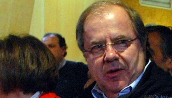 Herrera, en una de sus últimas visitas a Soria. / SN