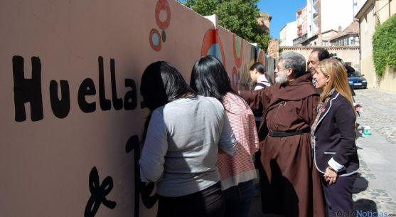 El mural pintado por Escolapias. / Ayto.