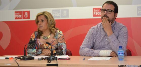Esther Pérez y Ángel Hernández