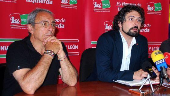José Sarrión (dcha.) y Juan José Catalina. / SN