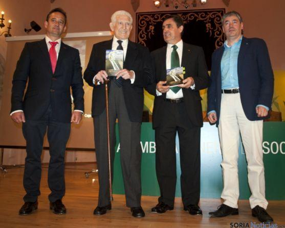 Francisco Javier Blanco, Jesús Borque, Carlos Martínez y Patxi Veramendi